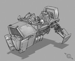 Hover Bike by MeckanicalMind