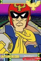 Ninty Card - Captain Falcon by HoppyBadBunny