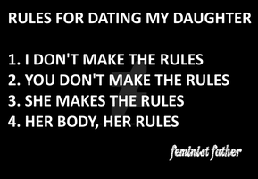 Rules for Dating my Daughter by Masterstshirts