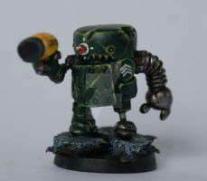 Rusty Marine Sergeant by SpaceCowSmith