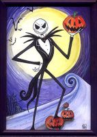 Jack Skellington by Go-Dark