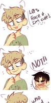 killing stalking  im cute by Bluebiscuits