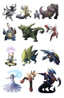 Mega Evolutions Mega Set by Legend13