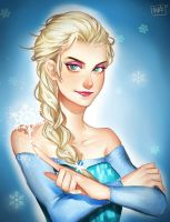 Elsa by XhilariousX
