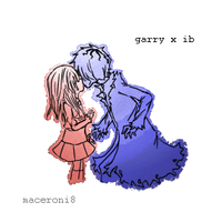 Garry x Ib by maceroni8