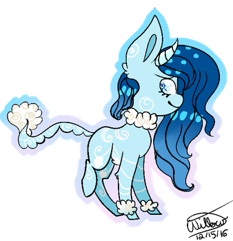 Cloudy~ [OC PREVIEW] by OreoPuppiez