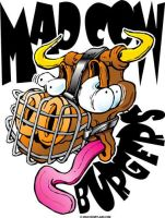 Mad Cow Burgers by grfxjams