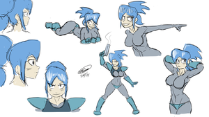 Lolo Practice Sketches by Twisted4000