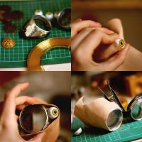 making - steampunk goggles by dear-dead-ofelia