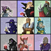 CBNS: Valentine cards (Conspirators vers.) by 123soleil