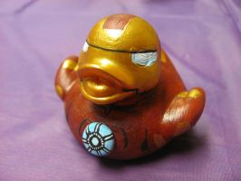Iron Man Duck by spongekitty