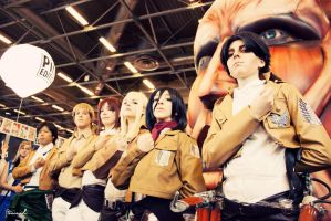 Attack on Titan by MrFantomdeBonta