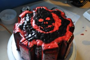 Gears of War Cake 1 by DavidArsenault