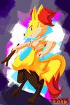 Braixen by toot6