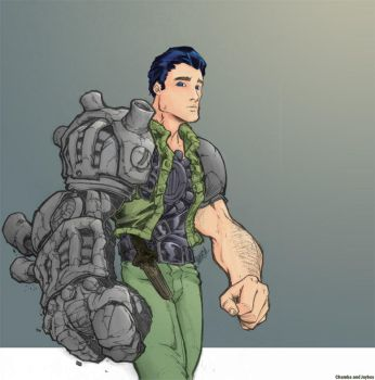 Cole Blaquesmith coloured by joybox-blues