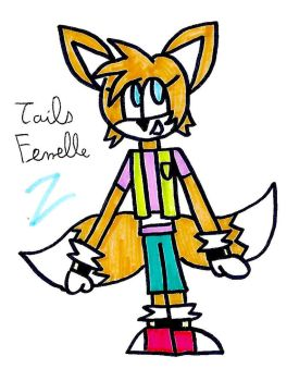 My Version of Female Tails by zigaudrey