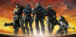 Halo Reach Team Noble One by TBO67