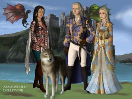 Dolldivine: Game of Thrones by Kytheira