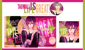 Tagwall The life Is Great by DannyRyouta
