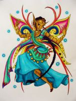 Aqua Auras-Bollywood Fairy by Ai-Don