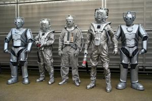Cybermen Through The Ages (3) by masimage
