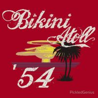 Bikini Atoll '54 by PickledGenius