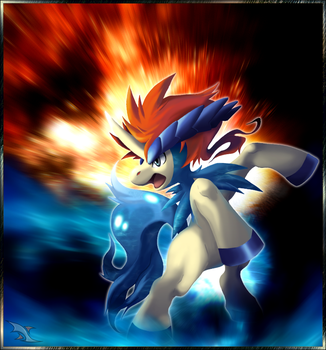 Keldeo the Fourth Musketeer by Xous54