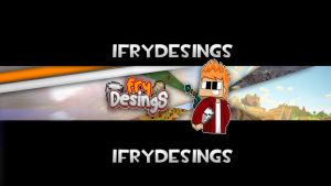 Banner/para mi canal/2014 by iFryDesings