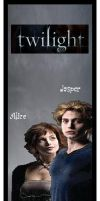 Alice and Jasper Bookmark by MoonlightShinigami