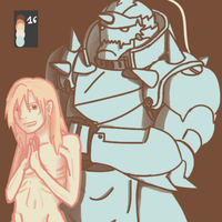Alphonse Elric Palette Challenge by TORTOLES