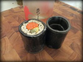 Sushi Saki Cups by aviceramics