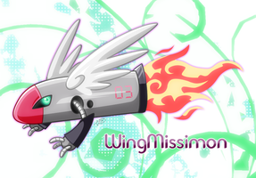 WingMissimon by Haulau