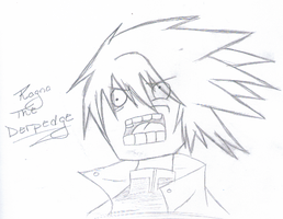 RAGNA THE DERPEDGE by chelseavampireknight