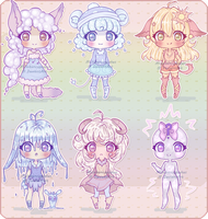 - Weather adopts batch - CLOSED by MichibanCupcakes