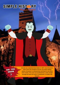 How do you defeat Count Dracula? by DinosaurCat
