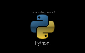 Harness the power of Python by SamusAranFreak