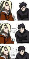 Deidara has questions by sinemoras