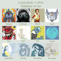 Rochol's RADICAL 2012 art summary I guess by VCR-WOLFE