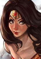 Wonder Woman by OnishinX