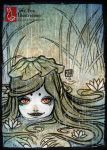 When it Rains... [ACEO] by TeaKitsune