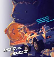 NEED FOR SPEED (feat. Peter the piglet) by LostMahPants