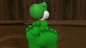 Yoshi's Soles close up 2 by hectorlongshot