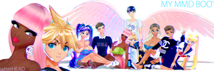 My MMD boos by chatterHEAD