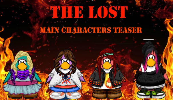 The Lost | Main Characters | TEASER by GamerGurl36