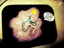 Lumpy Space Princess cake by pixi996