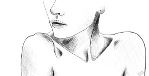 Collar bones by xniiicole