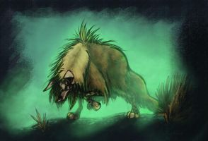 CritterJAM:Brown Hyena by Midsea