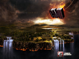 My very first photo manipulation -Cmi is Coming- by CreateMyIntro