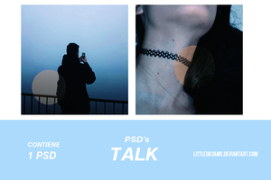 PSD 016 - TALK by LittleDr3ams