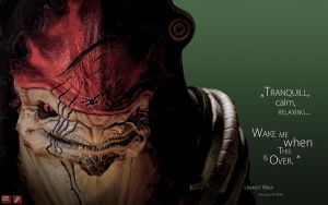 ME Wallpaper - Wrex by pineappletree